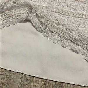 Deb Dresses - White mini dress